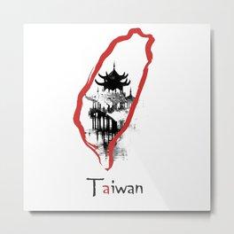 Taiwan, Taipei Metal Print