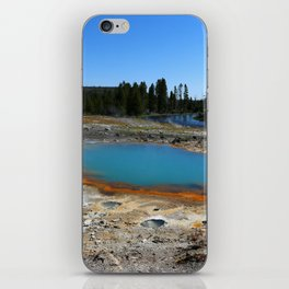 The Colors Of The Thermal Holes iPhone Skin