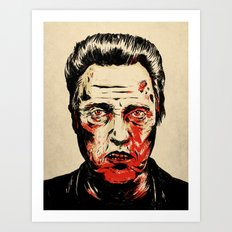 Walken Dead Art Print