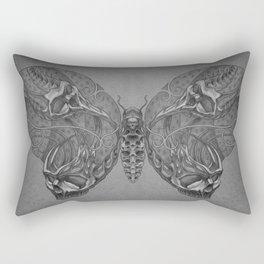 Butterfly skulls 1 Rectangular Pillow