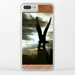 Americana - Memorial - Statue of Liberty - Manhatten - NYC Clear iPhone Case