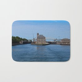 Operations Administrations Building for the Soo Locks Bath Mat