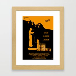Alfred Hitchcock's North By Northwest Framed Art Print