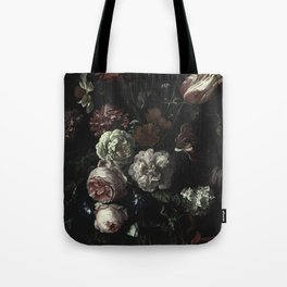 Arms Full Of Flowers II [antique painting remixed] Tote Bag