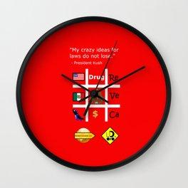 Crazy Ideas Wall Clock