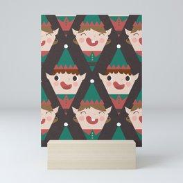 Santa's Little Helpers (Patterns Please) Mini Art Print