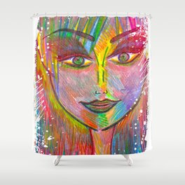 Life is Tough, My Darling, But So Are You. Shower Curtain