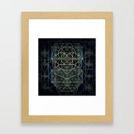 Quantum Conexion Framed Art Print