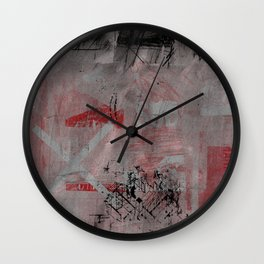 sedimenti 141 Wall Clock