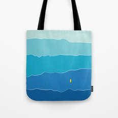 Layers of Waves Tote Bag