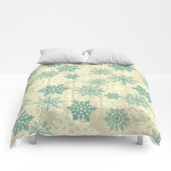 Snowflakes #2 Comforters