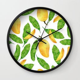 Sweet mango Wall Clock