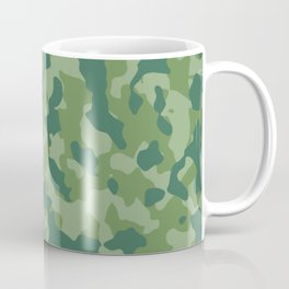 Camouflage Forest Foliage Coffee Mug