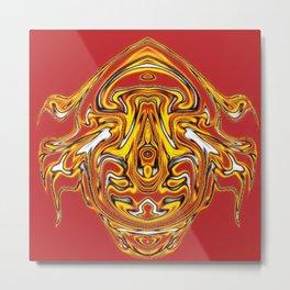 Fire Ornament, fantasy Metal Print