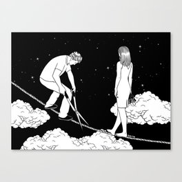 I'm not ready for the final cut Canvas Print
