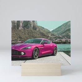 Vanquish Zagato Coupe Mini Art Print