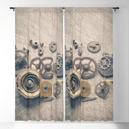 Watch Cogs and Gears Blackout Curtain