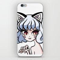 hunter x hunter iPhone & iPod Skins featuring Female Neferpitou from anime Hunter x Hunter by Starostina Alexandra (Himura-mechniza)