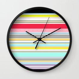 Delicious Rainbow Wall Clock