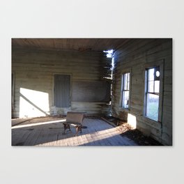 schoolhouse Canvas Print