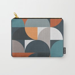 Mid Century Geometric 11/2 Carry-All Pouch