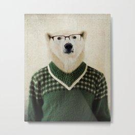 Spencer Bear Metal Print