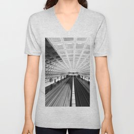 Commute Unisex V-Neck
