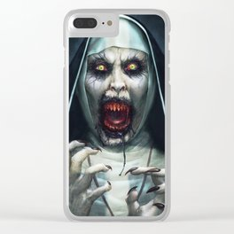 Valak Unleashed Clear iPhone Case