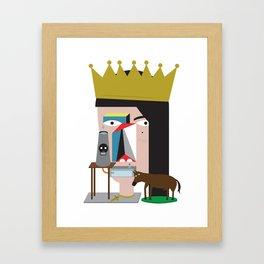 Presa Diretta Framed Art Print