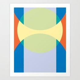 Cacho Shapes XCIII Art Print