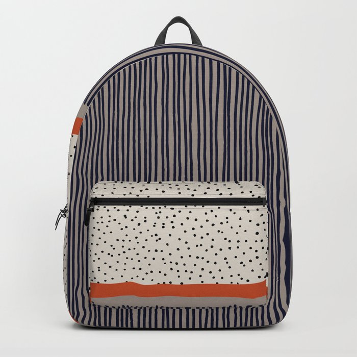 stripes and dots Backpack