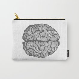 Brain vintage illustration Carry-All Pouch