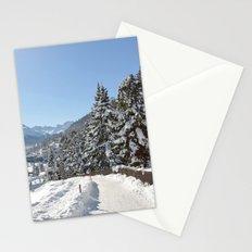 Winter in Switzerland Stationery Cards