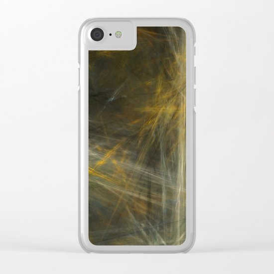 A Day in the Hay  (A7 B0193) Clear iPhone Case