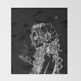 Aries Throw Blanket