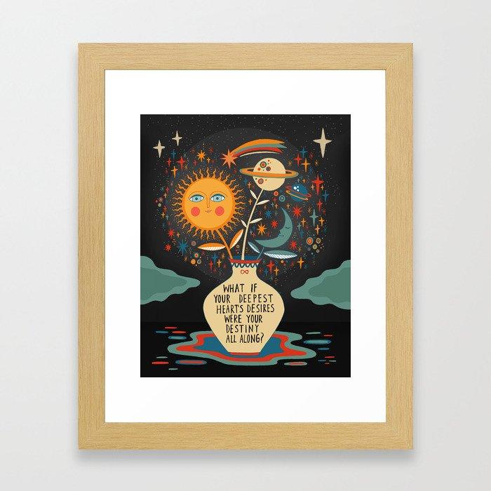Deepest heart's desires Framed Art Print