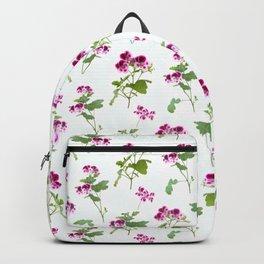 Angel eyes pelargonium Backpack