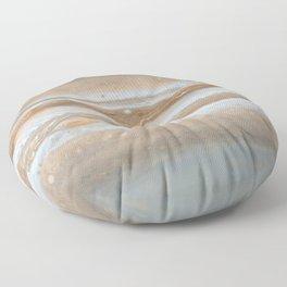 Planet surface — Jupiter Floor Pillow