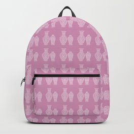 Pink Ginger Jars Backpack