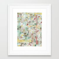 mosaic Framed Art Prints featuring Mosaic by Jacqueline Maldonado