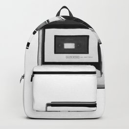 cassette recorder / audio player - 80s radio Backpack