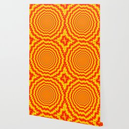 Big Bang in Red and Yellow Wallpaper