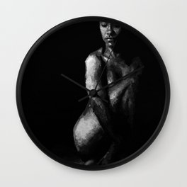 In The Flesh XI Wall Clock