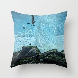 Thrill Seeker Throw Pillow