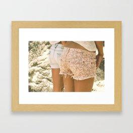 Chill Your Beach Booty Framed Art Print