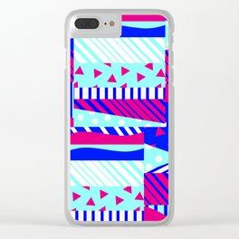It's Beach Time Clear iPhone Case