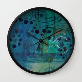Glyphs Wall Clock