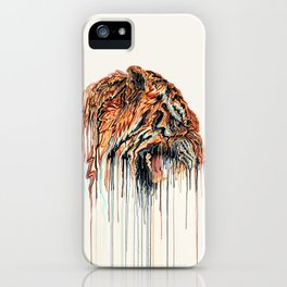 Dripping Tiger iPhone Case