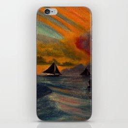 Boracay Sunset 1 iPhone Skin