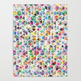 Cuben Colour Craze Poster
